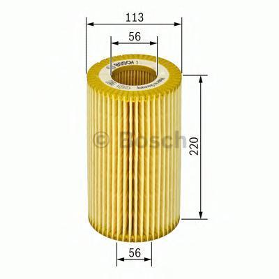 Масляный фильтр Bosch F026407045F026407045ВСТАВКА МАСЛЯНОГО ФИЛЬТРА