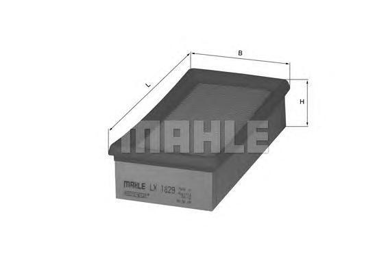 Фильтр воздушный Mahle/Knecht LX1829LX1829