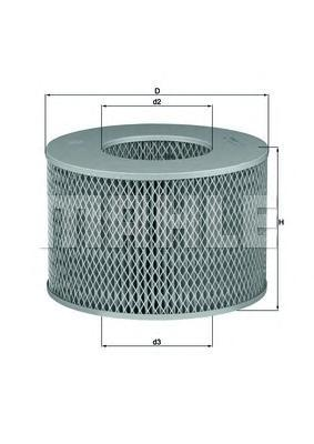 Фильтр воздушный Mahle/Knecht LX1140LX1140