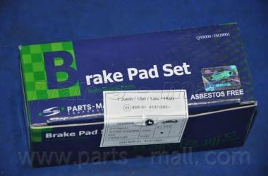 Колодки тормозные передние PMC PKAE28PKAE28