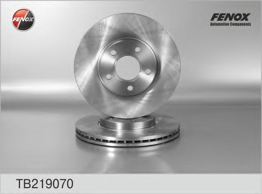 Диск тормозной Fenox TB219070 комплект 2 штTB219070