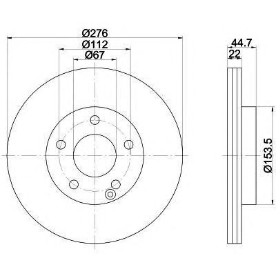 Диск тормозной Textar 92131903 комплект 2 шт92131903