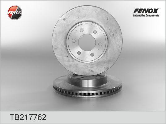 Fenox Диск тормозной. TB217762TB217762