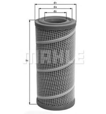 Фильтр воздушный Mahle/Knecht LX7080LX7080