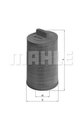 Фильтр воздушный Mahle/Knecht LX1277LX1277