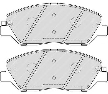 Колодки тормозные дисковые Premier Ferodo FDB4111FDB4111