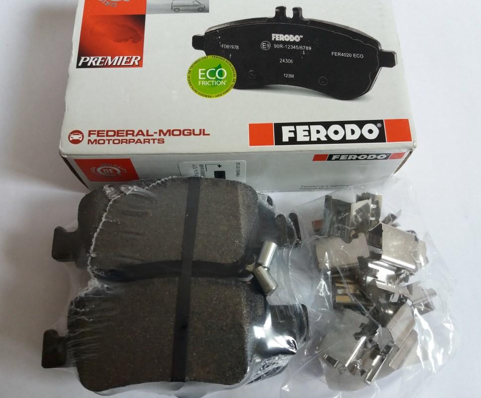 Колодки тормозные дисковые Premier Ferodo FDB4048FDB4048
