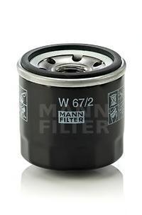 Масляный фильтр Mann-Filter W672W672