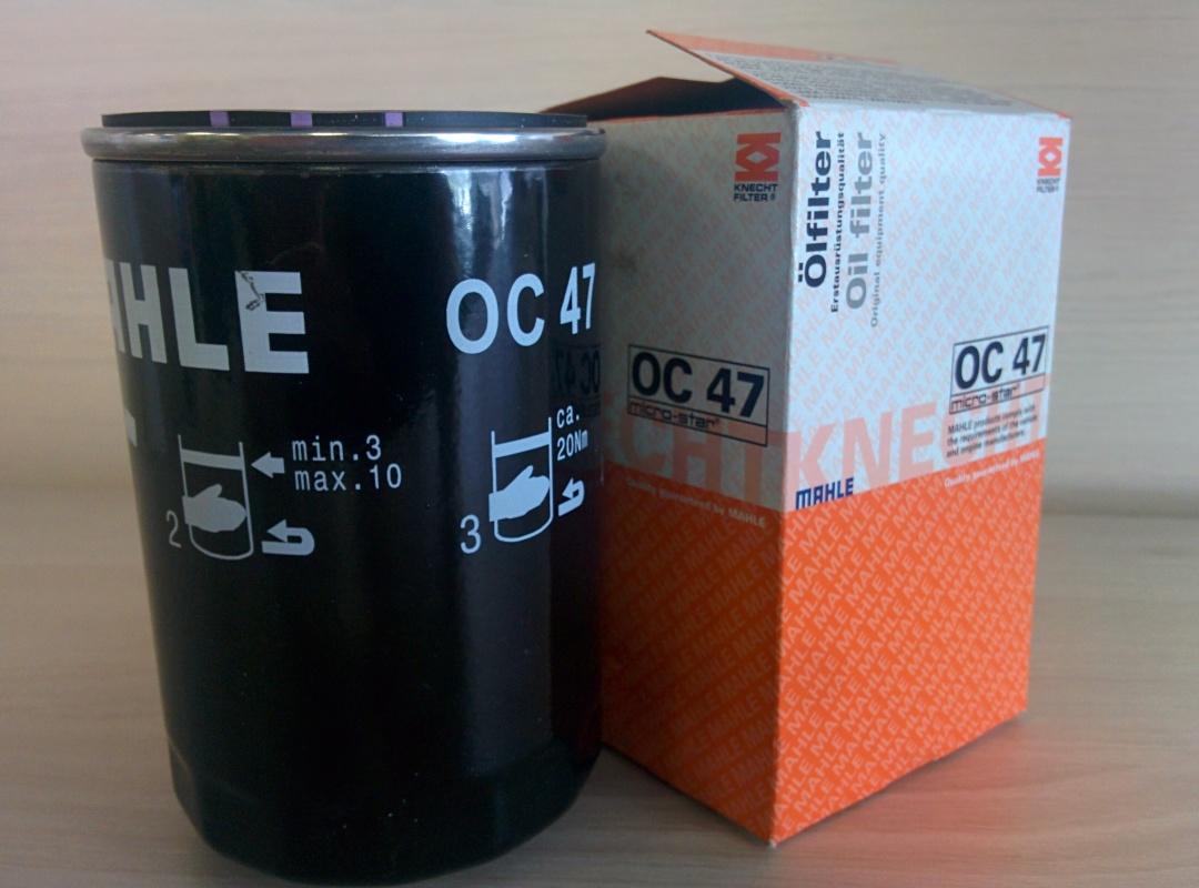 Фильтр масляный Mahle/Knecht OC47OC47