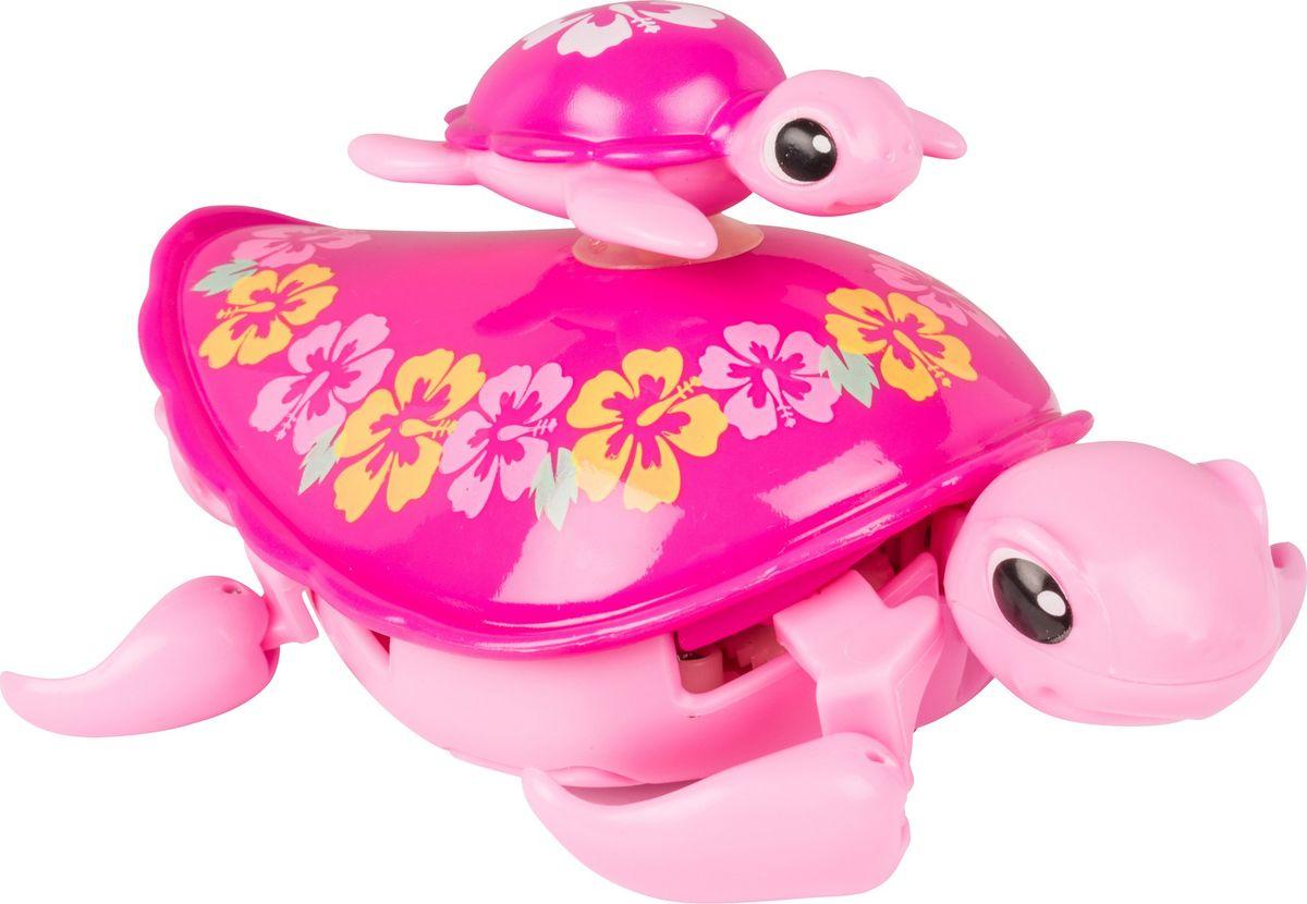 Little Live Pets Интерактивная игрушка Черепашка с малышом цвет розовый черепашка little live pets в аквариуме