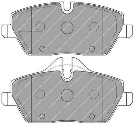 Ferodo Колодки тормозные дисковые Premier. FDB1747FDB1747
