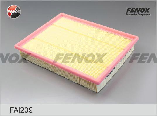 Воздушный фильтр Fenox. FAI209FAI209