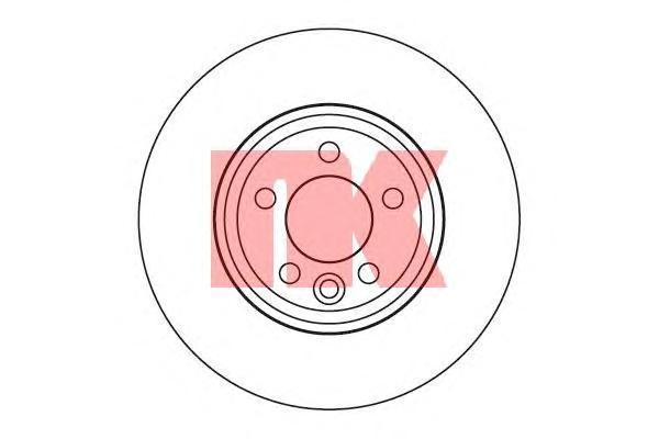 Диск тормозной NK 204013 комплект 2 шт204013