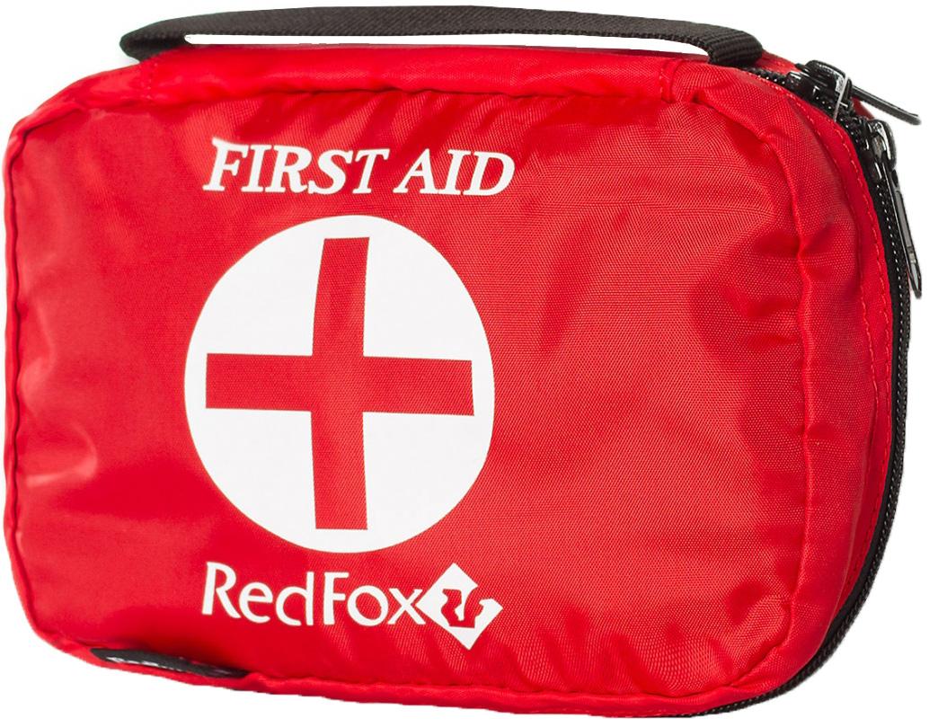 Аптечка Red Fox Rescue Kit, цвет: красный, 12,5 х 16 см81-528-1300Простая аптечка. Однообъемная. Есть специальный карабин для пристегивания. Назначение: туризм , путешествия Материал: Nylon 210 Размеры, мм: 125*160