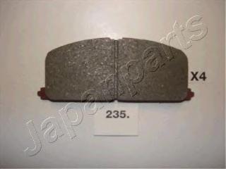 Колодки тормозные дисковые Japanparts PA235AFPA235AF