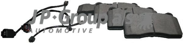 Group Колодки тормозные дисковые передние JP Group 11636068101163606810