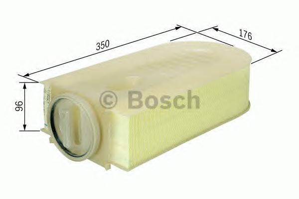 Фильтр воздушный Bosch F026400133F026400133