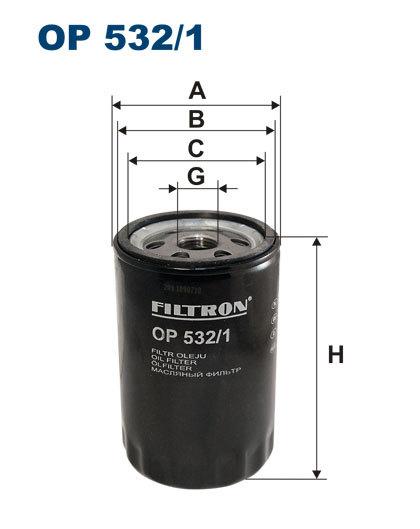 Фильтр масляный Filtron OP5321OP5321