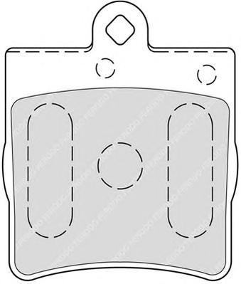 Колодки тормозные дисковые Premier Ferodo FDB1311FDB1311