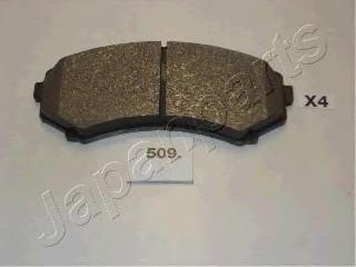 Колодки тормозные дисковые Japanparts PA509AFPA509AF