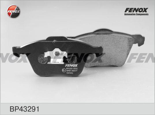 Колодки тормозные Fenox BP43291BP43291