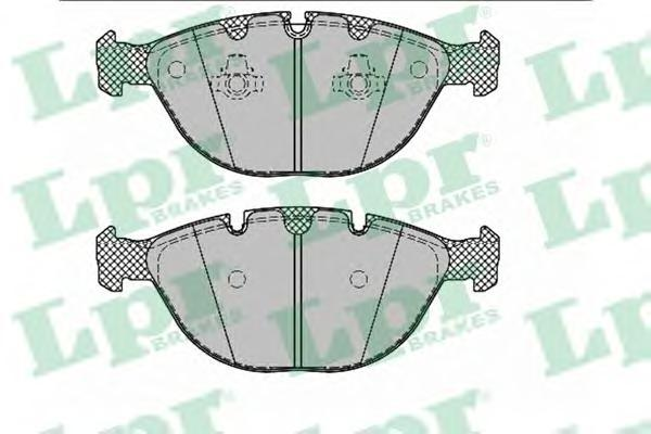 Колодки тормозные передние LPR / AP 05P133005P1330