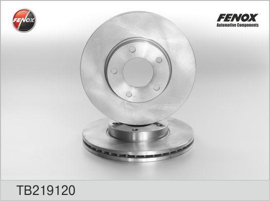 Fenox Диск тормозной. TB219120TB219120
