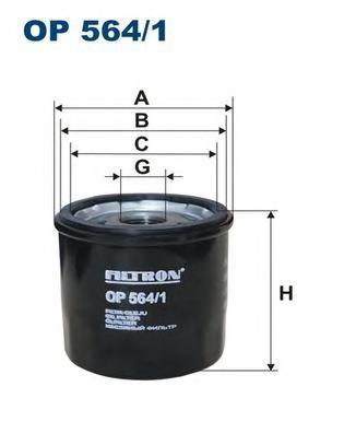 Фильтр масляный Filtron OP5641OP5641