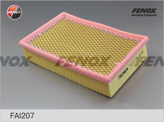 Воздушный фильтр Fenox FAI207FAI207