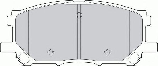 Колодки тормозные дисковые Premier Ferodo FDB1715FDB1715