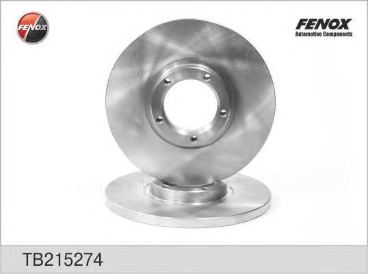Диск тормозной Fenox TB215274 комплект 2 штTB215274