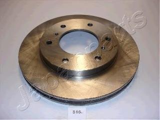 Диск тормозной Japanparts DI516 комплект 2 шт диск тормозной japanparts dp231 комплект 2 шт