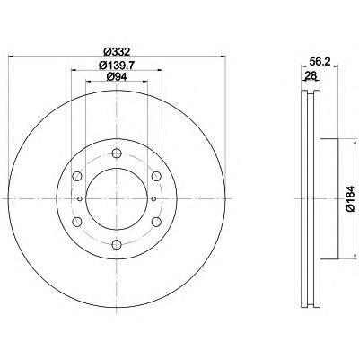 Диск тормозной Textar 92167203 комплект 2 шт92167203