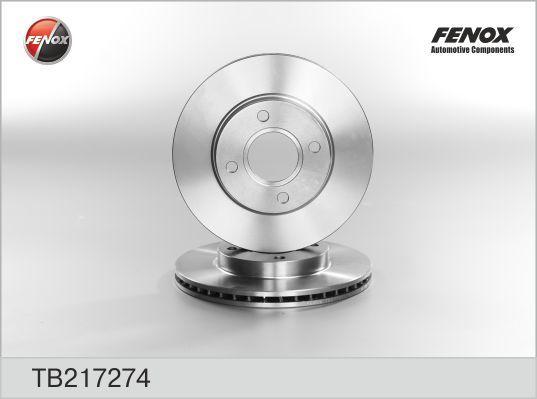 Диск тормозной Fenox TB217274 комплект 2 штTB217274