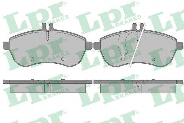 Колодки тормозные переднийLPR / AP 05P134005P1340