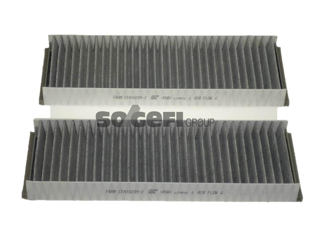 Фильтр салона угольный Fram,CFA102092CFA102092