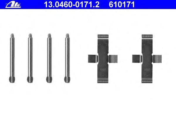 Колодки тормозные Ate 1304600171213046001712