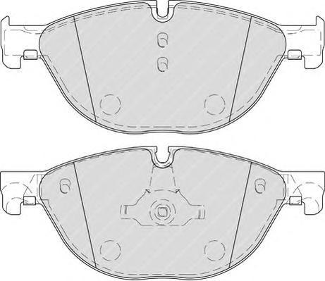Колодки тормозные дисковые Premier Ferodo FDB4285FDB4285