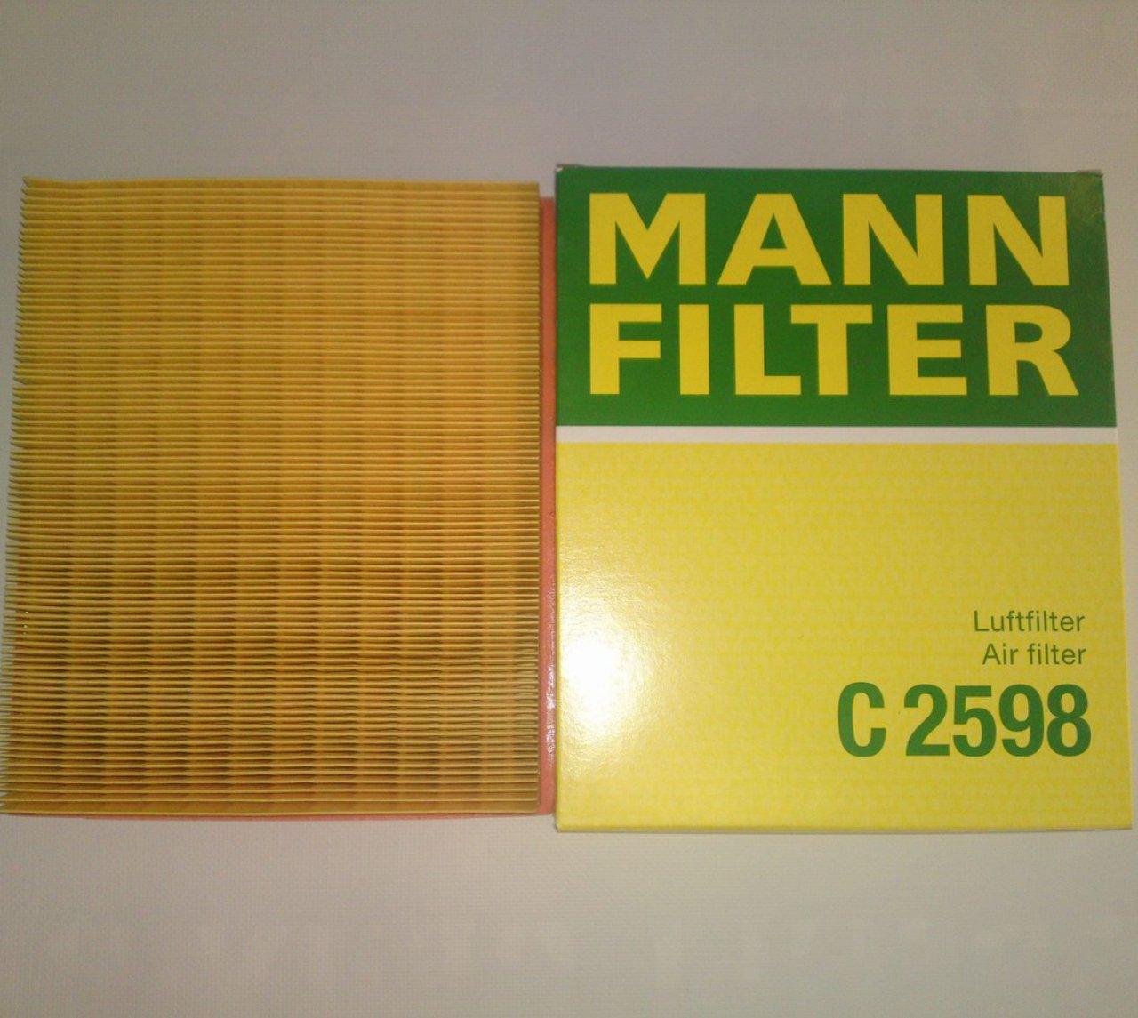 Фильтр воздушный Mann-Filter C2598C2598