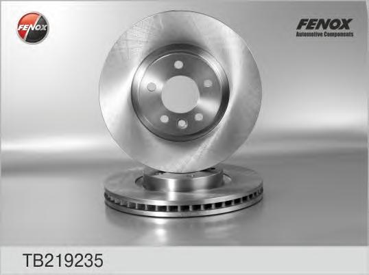 Диск тормозной Fenox TB219235 комплект 2 штTB219235
