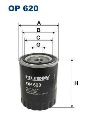 Фильтр масляный Filtron OP620OP620