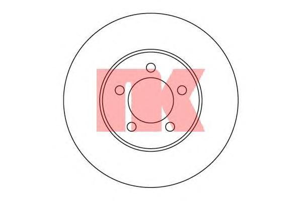 Диск тормозной NK 203263 комплект 2 шт203263