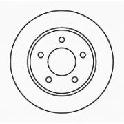 Диск тормозной NK 203250 комплект 2 шт203250