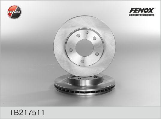 Диск тормозной Fenox TB217511 комплект 2 штTB217511