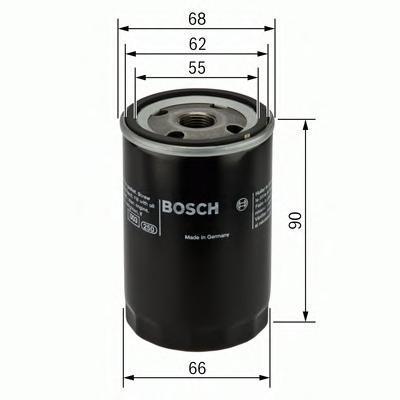 Фильтр масляный Bosch F026407077F026407077