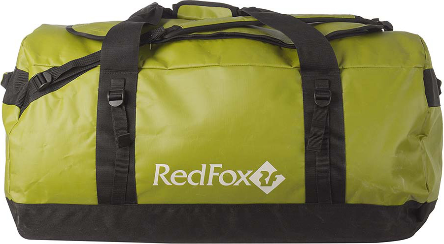 Баул Red Fox Expedition Duffel Bag, цвет: лайм, 70 л