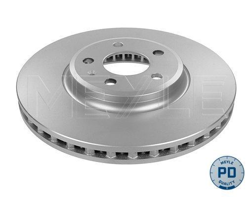 Диск тормозной передний вентилируемый 5 отв Meyle 1835211117PD комплект 2 шт1835211117PD