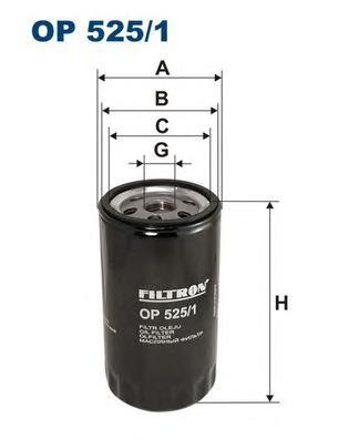 Фильтр масляный Filtron OP5251OP5251