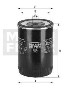 Фильтр топливный Mann-Filter WK930/5WK930/5