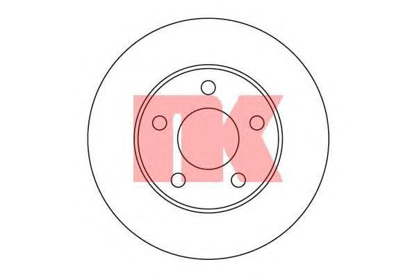 Диск тормозной NK 203634 комплект 2 шт203634
